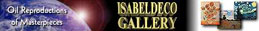 ISABELDECO GALLERY Oil Reproductions of Masterpieces